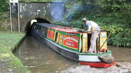 A tight squeeze: Froghall Tunnel