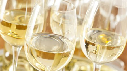 Cool, crisp and refreshing - warmer weather calls for a glass of white wine © Thinkstock