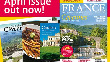 The April 2018 issue of FRANCE Magazine is on sale now