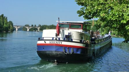 River cruise in Champagne on Serenity Barge © Serenity Barge
