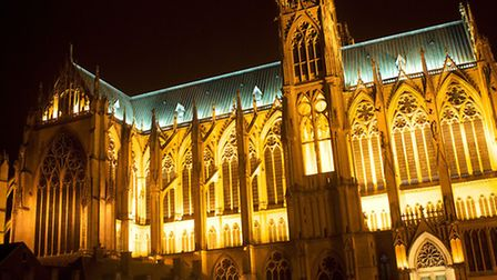 Metz' Cathedral in Moselle ©Nick Middleton