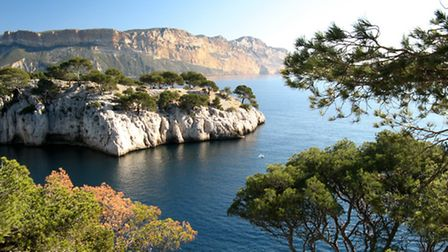 The Calanques National Park in France © Dreamstime