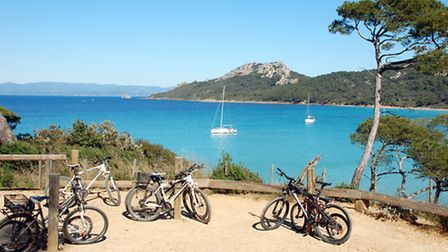 Porquerolles in the Port Cros National Park in France © Hyeres Tourisme