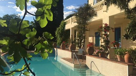 Carol Drinkwater's house in the south of France