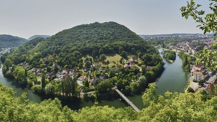 Besançon and the Doubs River ©Damien Lachas