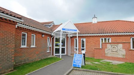 The North Walsham and District War Memorial Hospital.PHOTO: ANTONY KELLY