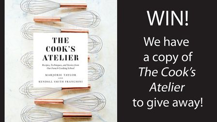 Enter our competition for a chance to win a copy of the recipe book The Cook's Atelier