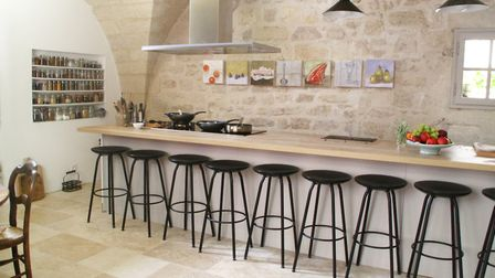 Petra Carter's cooking school is in the centre of Uzès in the Gard department