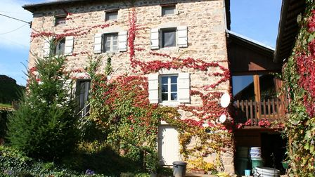 Just one of many homes in Saône-et-Loire we're lusting after this month...