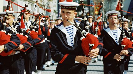 The Breton shirt became the official uniform of the French Navy in 1858 © Marine nationale / Baud Va