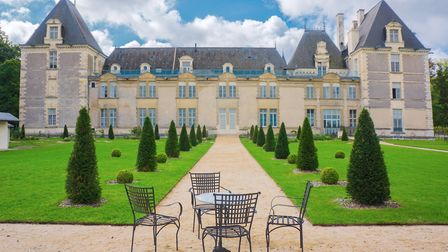 Chateau de Jalesnes in the Loire Valley