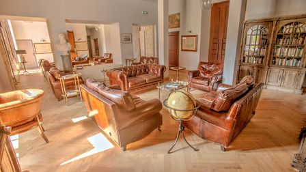 Chateau de Jalesnes is full of comfortable furnishing that fits with the period chateau