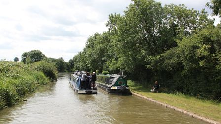 Slow down passing moored boats (photo: Martin Ludgate)