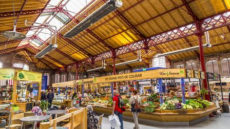 The old market hall in Colmar, Alsace ©Meinzahn - Getty Images