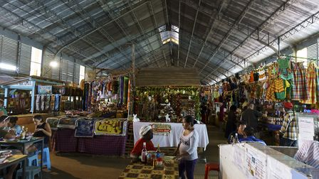 Spices, arts and crafts in Cayenne market in Guyana ©Dan Sloan (CC BY-SA 2.0) - flickr