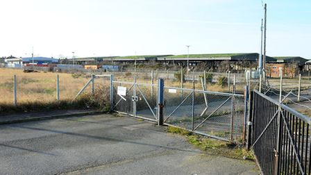 BEFORE: The Jeld Wen site close to Riverside Road Kirkley Waterfront Picture: James Bass