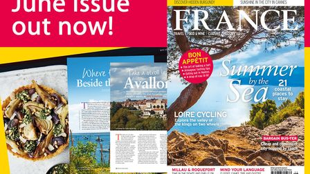 The June 2018 issue of FRANCE Magazine!