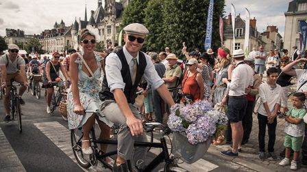 A bike ride with a difference at the Anjou Velo Vintage in the Loire Valley © Christophe GAGNEUX Pix