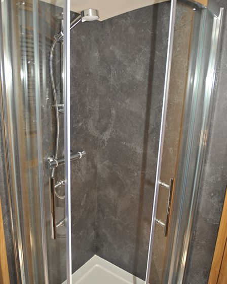 Compact quadrant shower (photo: Andy R Annable)