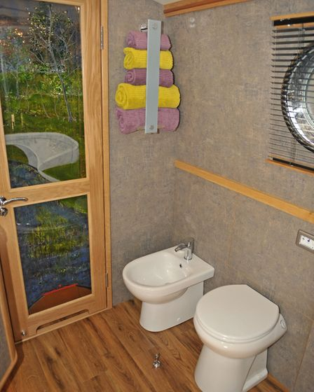 Yes, that is a bidet on the boat (photo: Andy R Annable)