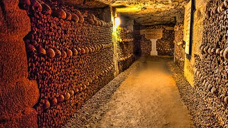 The eerie but fascinating Catacombs in Paris ©ThinkstockPhotos