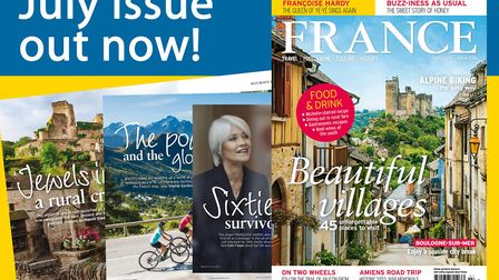 The July 2018 issue of FRANCE Magazine is now on sale