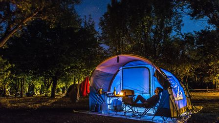 There are different planning permission regulations for campsites © Arie Mastenbroek / Getty Images/