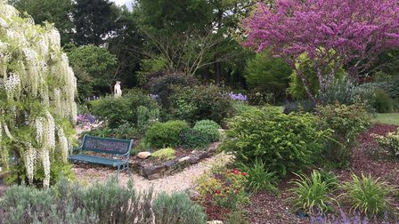 Noreena and Steve Parker have created their dream garden in Deux-Sevres