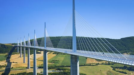 The Millau Viaduct in Aveyron is a marvel of modern engineering © iStock