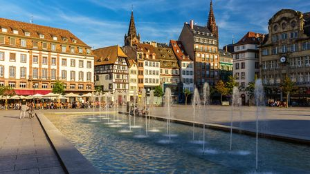 Place Kleber in Strasbourg © Leonid Andronov /Getty Images/iStockphoto