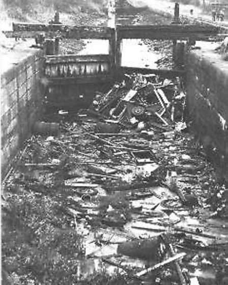 The Forth & Clyde Canal before restoration (Keep Canals Alive)