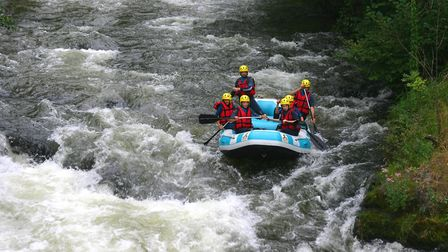 Rafting on the River Aude © ADT Aude