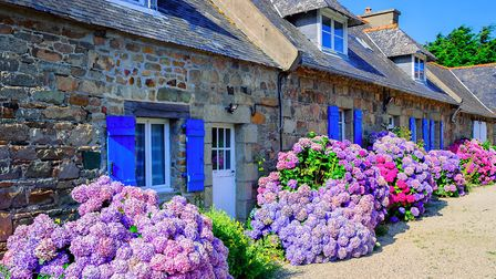 A beautiful village house in Brittany © Xantana / iStock / Getty Images Plus