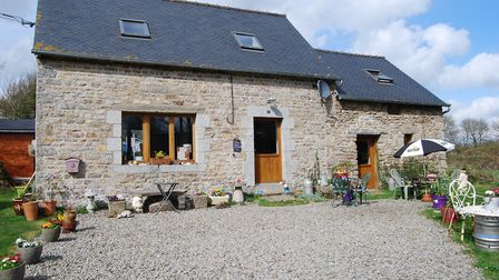 Two-bed granite cottage near Les Rosaires for sale for 88,000 with Leggett Immobilier