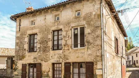 This three-bed town house in Vienne is for sale for only 46,000 euros