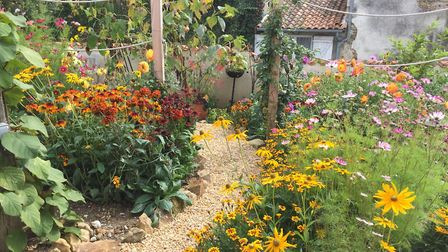 Owners of this property in Haute-Vienne opened their garden as part of the Open Gardens organisation