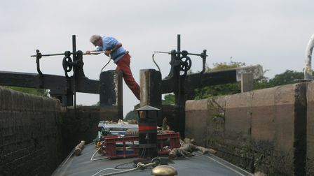 More hard graft tackling yet another lock