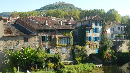 St-Antonin-Noble-Val is a perfect location for a cycling holiday