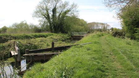 Whitminster Lock was partly restored some years ago but will need further work (photo: Martin Ludgat