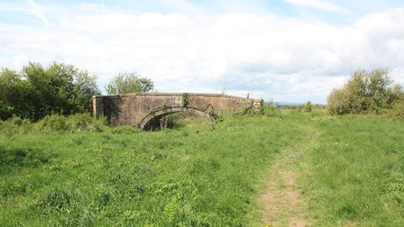 Westfield Bridge survives, as do the buried remains of the nearby Westfield Lock (photo: Martin Ludg