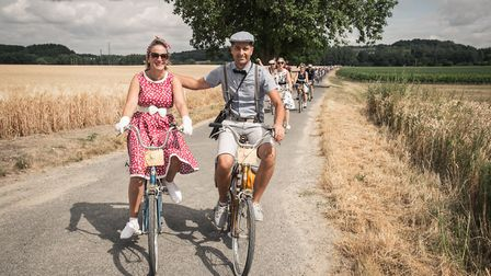 Cycle through Loire Valley vineyards and countryside at the Anjou Velo Vintage © Christophe GAGNEUX