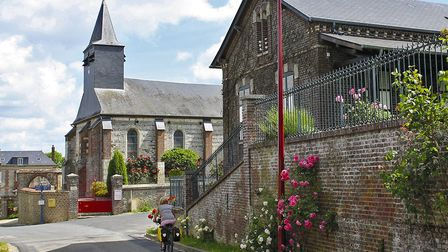St Pierre-es-Champs has an attractive church and a small château © Cicerone