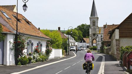 Estrée is one of many pretty villages in the Course valley © Cicerone