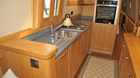 On a boat packed with power, oven cooking is by electricity