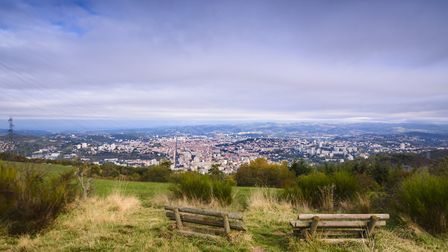 The view over Saint-Etienne © Fontaine Gael / Thinkstockphotos