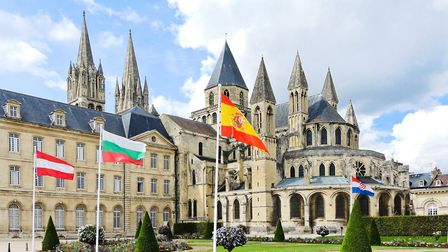 Caen in Calvados has he added advantage of being close to ferrt ports © vvoe / Fotolia