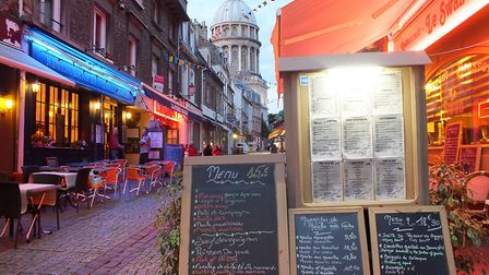 The old town in Boulogne-sur-Mer is the place to go for restaurants and bars © Janine Marsh