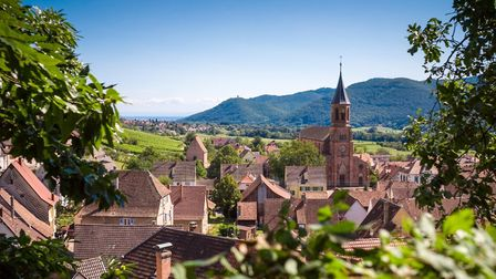 Church bells can ring every 15 minutes in some French villages - Wihr-au-Val, Alsace (c)oirat - Gett