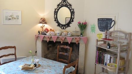 Kate wanted to create a traditional tea room offering local specialities © Lauren Howells