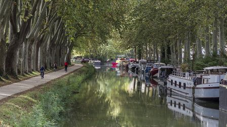 The Canal du Midi towpaths are perfect for relaxed and gently cycling ©jazzpote - Getty Images/iStoc